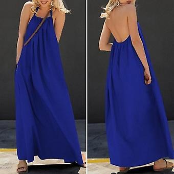 Kaftan Long  Casual Backless Maxi Dress