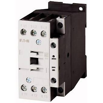 Eaton DILM25-10(RDC24) Contactor 1 pc(s) 3 makers 11 kW 24 V DC 25 A + auxiliary contact
