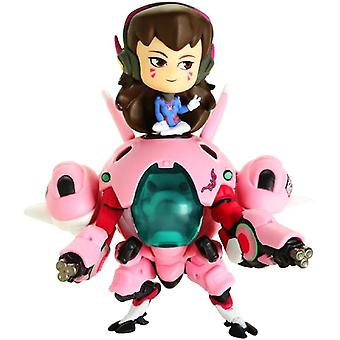 Overwatch, collectible figures-D.Va and Meka