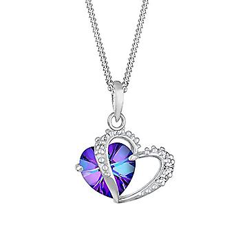 Elli Necklace with Pendant to Woman's Heart in Silver 925