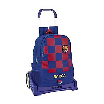 Ergonomic backpack FC Barcelona 1st team 19/20 Officer with Safta Evolution cart
