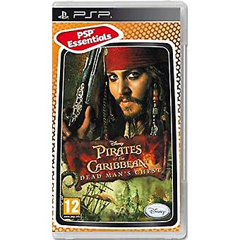 Pirates Of The Caribbean Dead Mans Chest - Essentials (PSP) - New