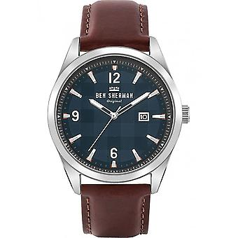 BEN SHERMAN - Watch - Men - WB040T - CARNABY CHECK