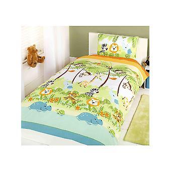 Jungle Boogie Junior Toddler Duvet Cover & Pillowcase Set