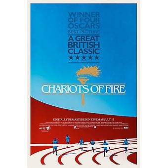 Strijdwagens van brand 2012 re-release poster dubbel zijdig (2012) originele Cinema poster