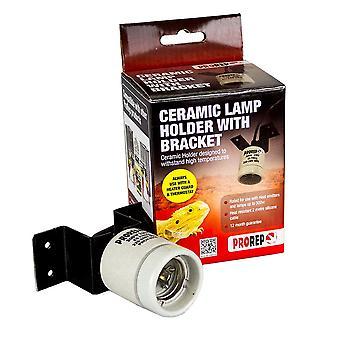 ProRep Ceramic Lamp Holder With Bracket