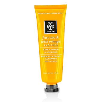 Apivita Face Mask With Orange - Radiance - 50ml/1.74oz