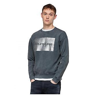 Replay Jeans Replay Blue Jeans Mens Sweatshirt 099