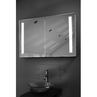 Julius LED salle de bains Cabinet avec Dévésiculeur Pad, capteur et Shaver K372