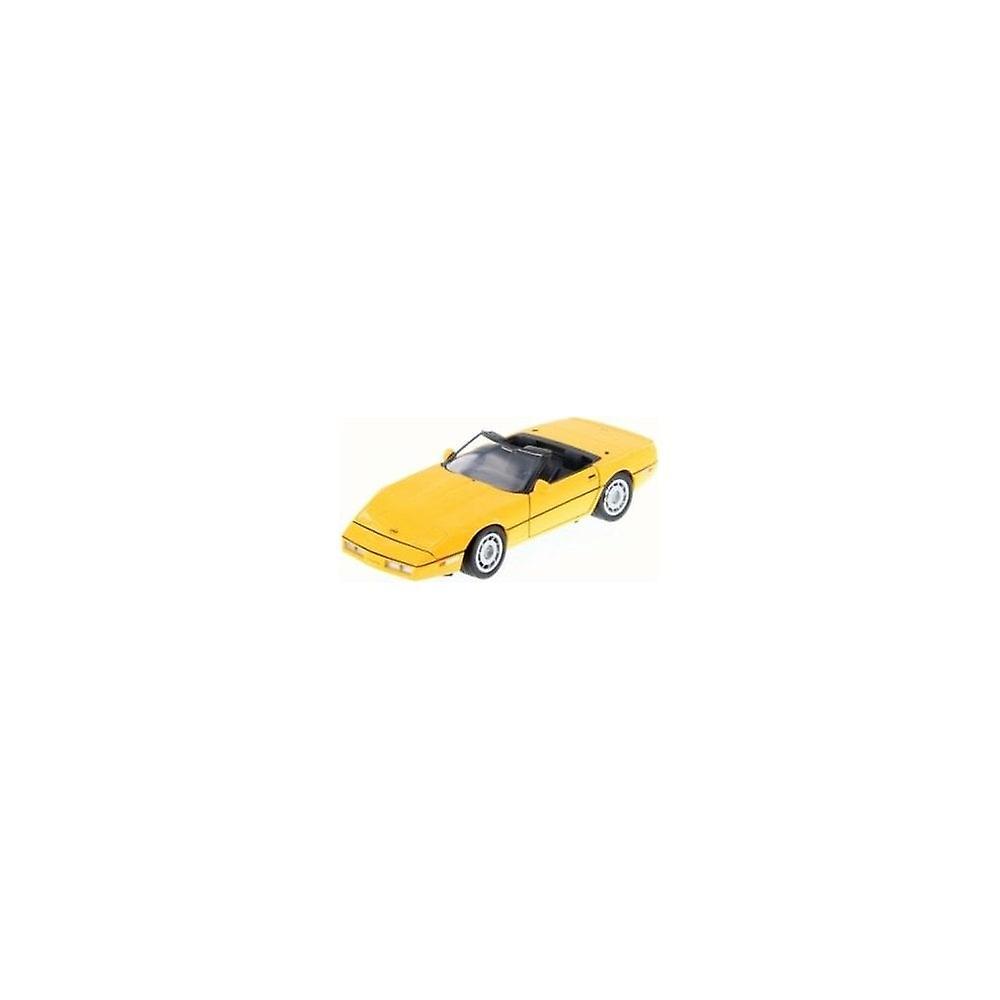 MotorMax Motormax - 1986 Corvette Yellow  1:24