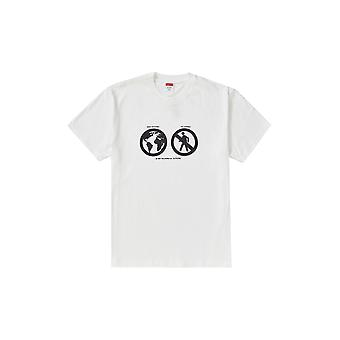 Supreme Save The Planet Tee White - Clothing