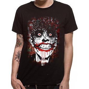 DC Comics unisexe adultes le Joker Arkham design T-Shirt