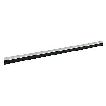 Tiras de cepillo de puerta de garaje 25mm Bristles - 2x1067mm Blanco