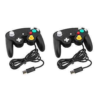 2 x Kabalo bekabelde Gamepad Joypad Gaming Controller voor Nintendo Gamecube / Wii Console