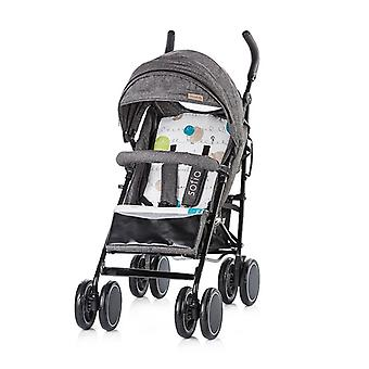 Chipolino stroller Sofia, buggy, collapsible, sunroof with pocket