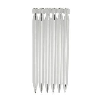 New Eurohike Backpacking Alloy Pegs 18cm Silver