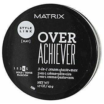 Matrix Style Link Over Achiever 3-en-1 Cream+Paste+Wax (Hold 4) 49g/1.7oz