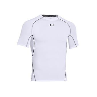 アンダーアーマーHG圧縮1257468100トレーニング夏の男性Tシャツ