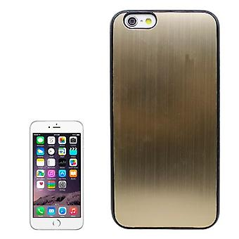 For iPhone 6S PLUS,6 PLUS Case,Modern Durable Brushed Shielding Cover,Gold