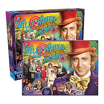 Willy wonka collage 1000pc puzzle