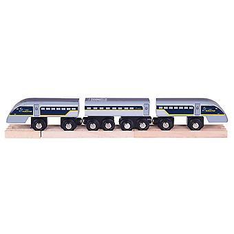 Bigjigs Rail Wooden Eurostar Train