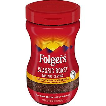 Folgers Classic Roast Instant Coffee 8 oz