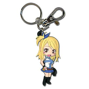 Key Chain - Fairy Tail - New SD Lucy 2 Pose Toys Anime Licensed ge36790