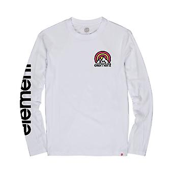 Element Sonata Long Sleeve T-Shirt in Optic White