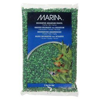 Marina MARINA GRAVA DECORATIVA VERDE TON 2 kg