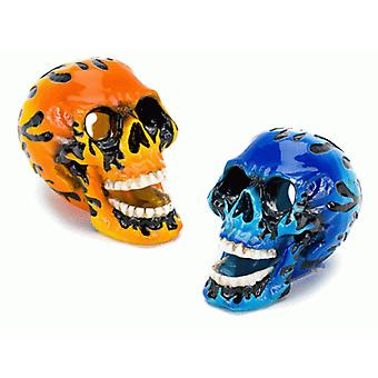 Sandimas Mini Flame Skull 3,75X6,25X5Cm (Peces , Decoración , Adornos)