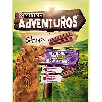 Adventuros Venado strips 90 g (Dogs , Treats , Chewy and Softer Treats)