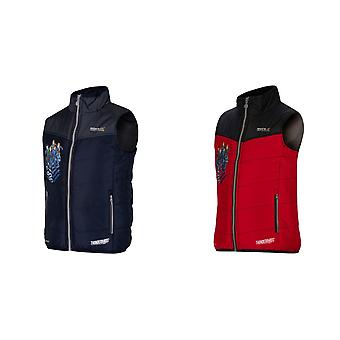Regatta Thunderbirds Childrens/Kids Official Earthbreaker Bodywarmer