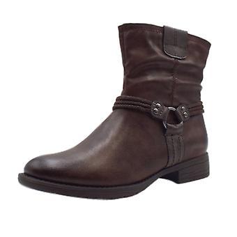 لينة الخط 25461 أنكونا السائق نمط أحذية تناسب واسعة في الكستناء