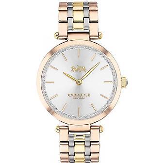 Coach   Women's Park   Triple Tone Steel Bracelet   Silver Dial   14503509 Watch