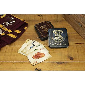 Harry Potter Hogwarts Castillo jugando a las cartas conjunto ideal para el casino de blackjack de póquer