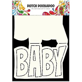 Dutch Doobadoo Dutch Card Art Text Baby A5 470.713.647