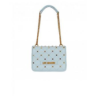 Love Moschino Accessories Stud Quilt Logo Shoulder Bag