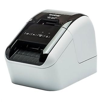 Thermal Printer Brother QL800ZX1 USB White