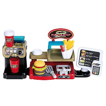 Theo Klein Burger Shop with Touch Display and Card Reader for Ages 3+ and Above