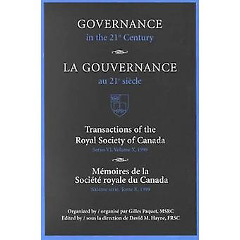 Governance in the 21st Century  Gouvernance Au 21e Sicle by 1