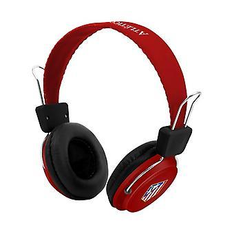 Headphones with Headband Atlético Madrid 720761 Bluetooth Red