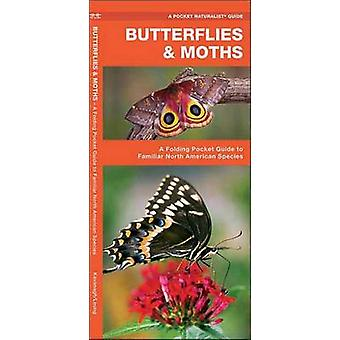 Butterflies & Moths - A Folding Pocket Guide to Familiar North America