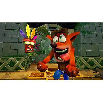 Crash Bandicoot N. rozumná trilogie PS4 hra