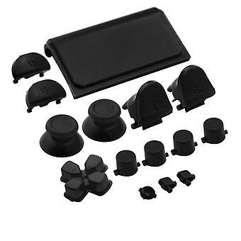 Button-Set für ps4 slim sony Controller voll ersatz - schwarz | zedlabz