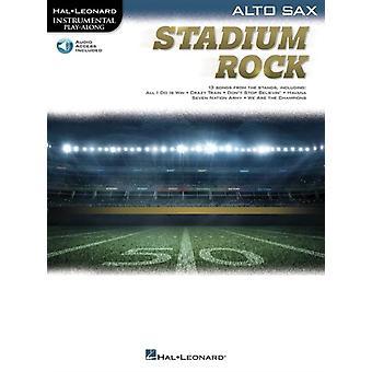 Stadium Rock for Alto Sax by Hal Leonard