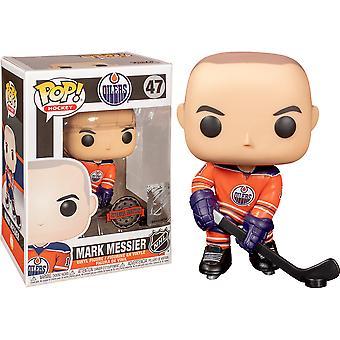 NHL Oilers Merk Messier US Exclusive Pop! Vinyl