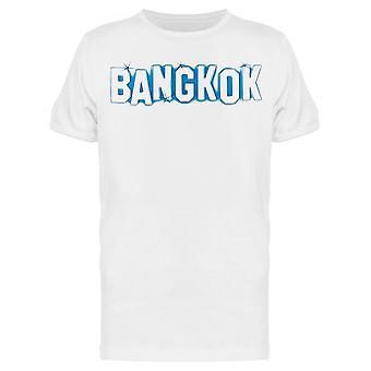 شعار بانكوك تي الرجال & apos;s -الصورة من قبل Shutterstock