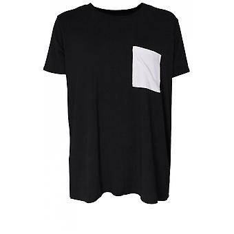 A Postcard from Brighton Patchey Soft Black Jersey Tee