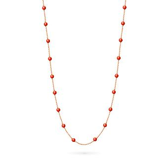 Collier Long Constellation Coral 18K Or