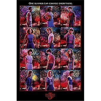 Stranger Things 3, Maxi Poster - Karaktärer